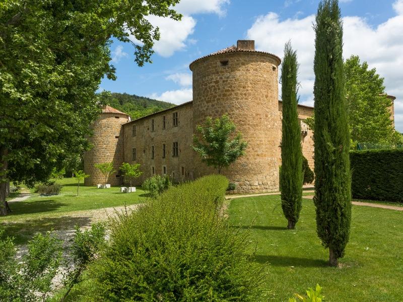 chateau du ducs des joyeuses lors d'un séminaire près de Toulouse