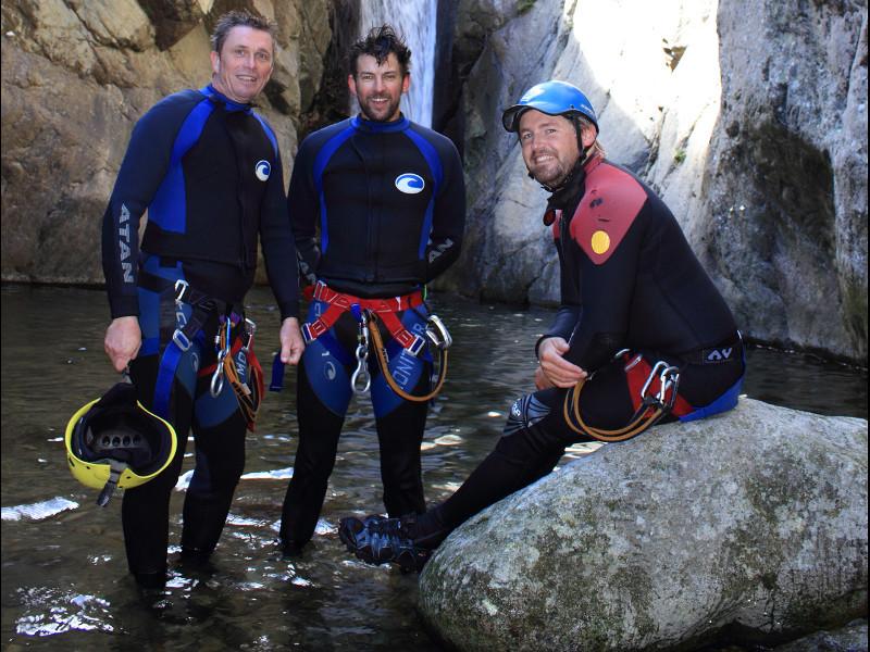 Equipement necessaire pour le canyoning dans la vallée de l'Aude dans les pyrénées
