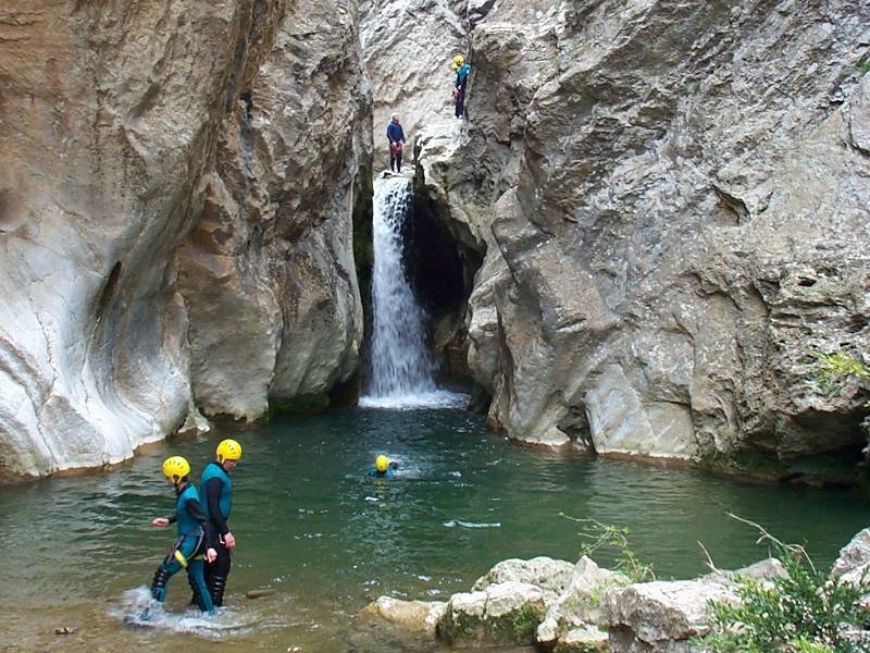 L'activité canyon dans l'Aude
