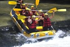 rafting famille aude menu
